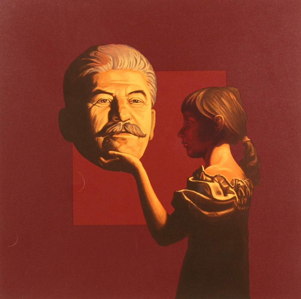 KOMAR & MELAMID (RUSSIAN B1943 AND B1945) Girl and Stalin