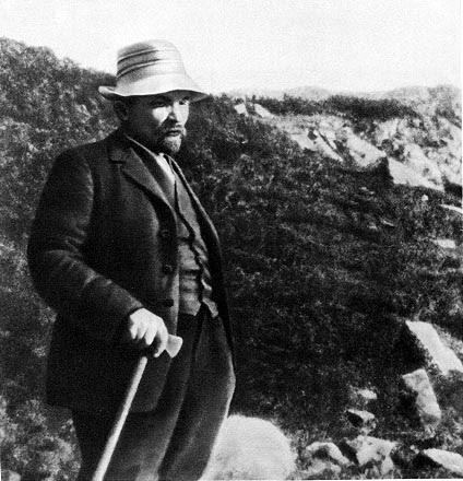 Alpinistul Lenin (anii de exil)
