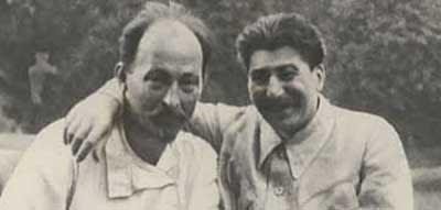 Dzerjinski si Stalin (1926)