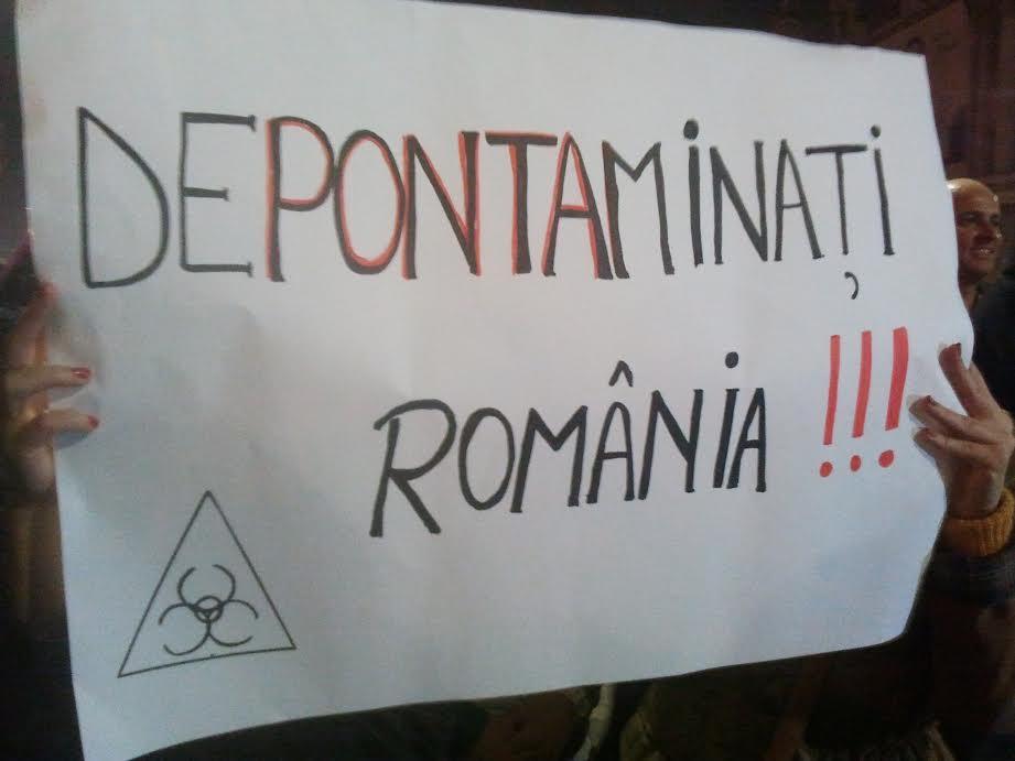 Bucuresti, Piata Universitatii, 8 noiembrie 2014