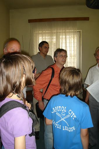 Caius Dobrescu, Vladimir Tismaneanu, Octav Bjoza, sediul AFDPR, Brasov, iunie 2007