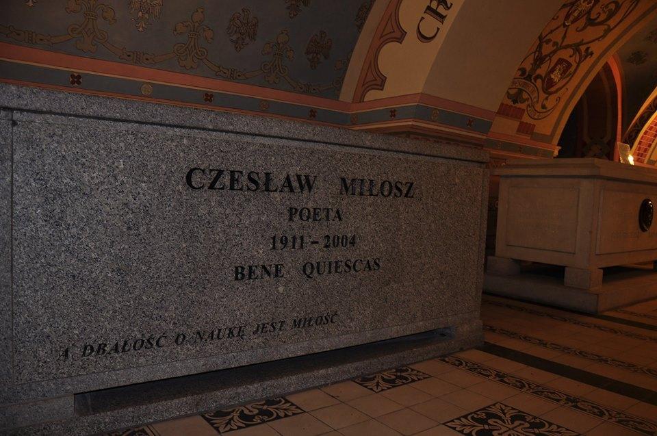 Cracovia, cripta lui Milosz, fotografie de Marius Stan