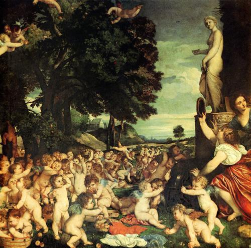 1518, Titian - Sarbatoarea lui Venus