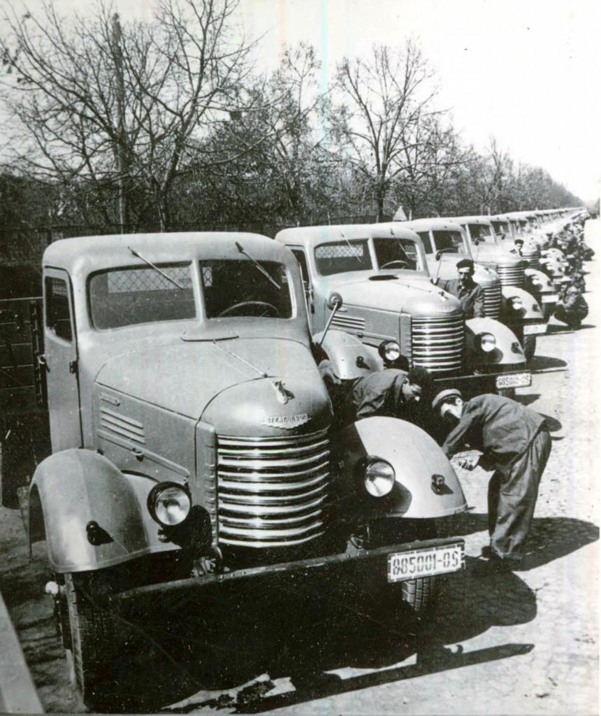 Un proiect foarte costisitor:fabricarea autocamionului sovietic ZIS-150 in Romania (1954-1063)