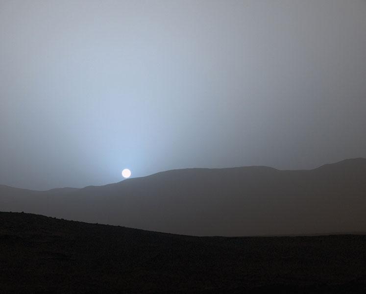 Cum este cerul pe Marte Mars