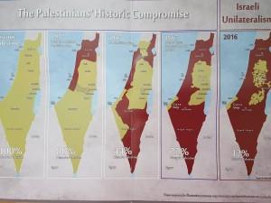 harta Palestina pusa la dispozitie de Ministerul Turismului palestinian
